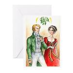 Regency Christmas card (Pack of 10)