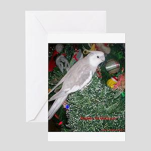 Skylar's Happy Holidays Greeting Card