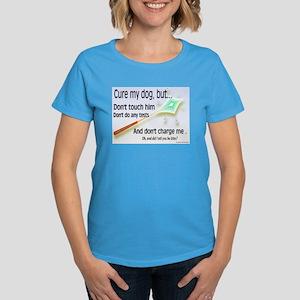 Cure My Dog Women's Dark T-Shirt