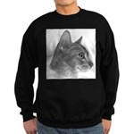 Abysinnian Cat Sweatshirt (dark)