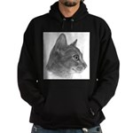 Abysinnian Cat Hoodie (dark)