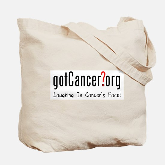 Nice Try Cancer Tote Bag