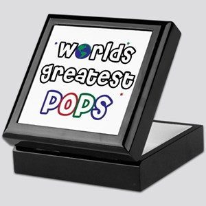 World's Greatest Pops Keepsake Box