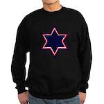 Jewish Star Sweatshirt (dark)