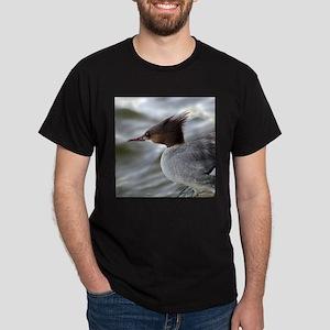 Crazy Redhead Merganser Dark T-Shirt