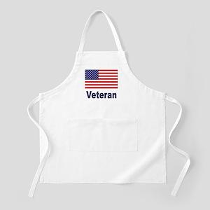 American Flag Veteran BBQ Apron