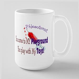 Phlebotomist Large Mug