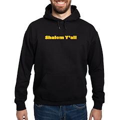Shalom Y'all Hoodie (dark)