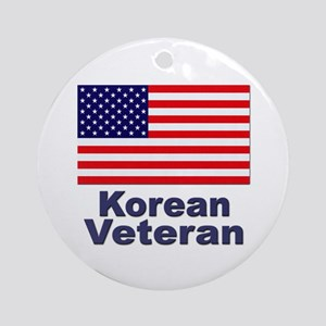 Korean Veteran Ornament (Round)