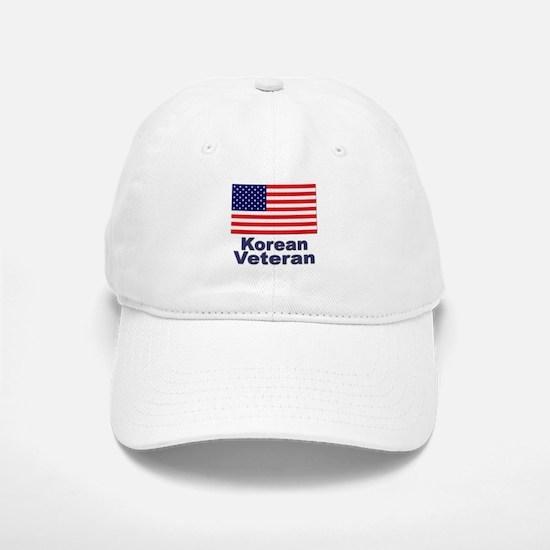 Korean Veteran Baseball Baseball Cap