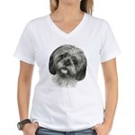 Shih Tzu Women's V-Neck T-Shirt