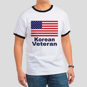 Korean Veteran (Front) Ringer T