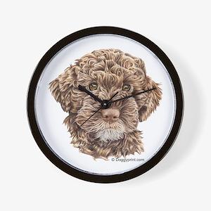 Lagotto Wall Clock