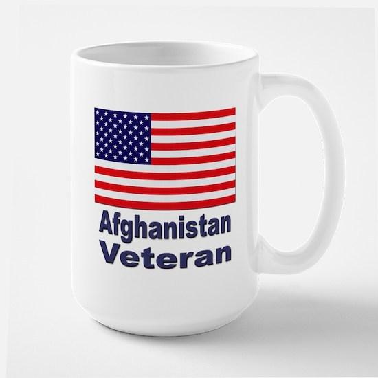 Afghanistan Veteran Large Mug
