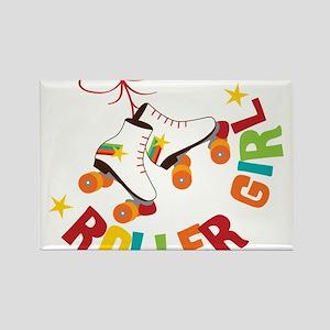 Roller Skate Girl Magnets