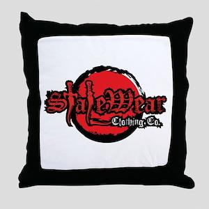 SWC Gothic Style W/Daggers Throw Pillow