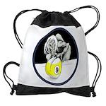9 Ball Monster Trick Or Treat Drawstring Bag