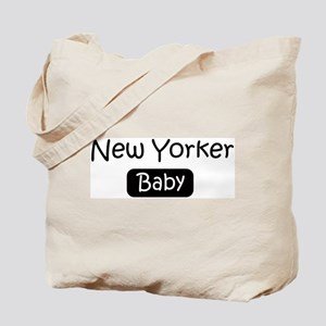 New Yorker baby Tote Bag