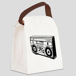 Ghettoblaster - DJ - Musi Canvas Lunch Bag