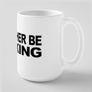 I'd Rather Be Sucking Large Mug