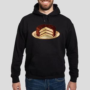 Retro Cake T-shirts Hoodie (dark)