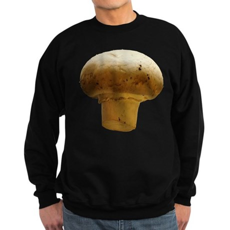 Button Mushroom Sweatshirt (dark)