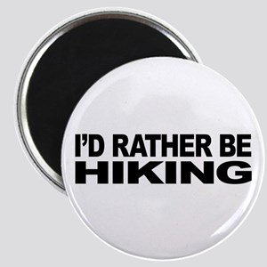 I'd Rather Be Hiking Magnet