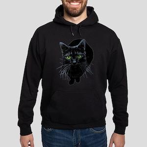 Black Cat Hoodie (dark)