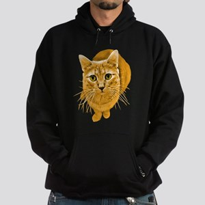 Orange Cat Hoodie (dark)