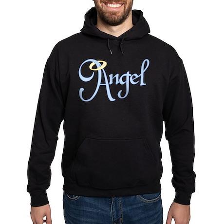 Angel Text Hoodie (dark)