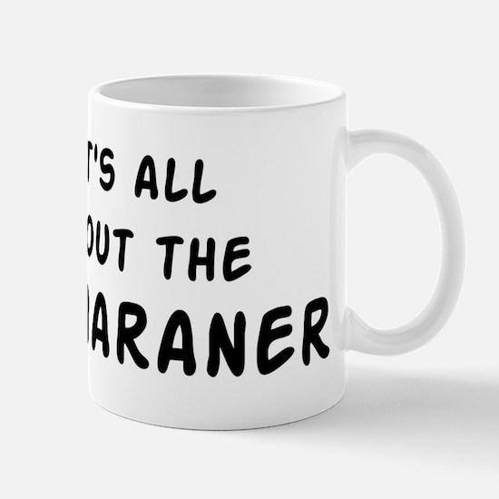 about the Weimaraner Mug
