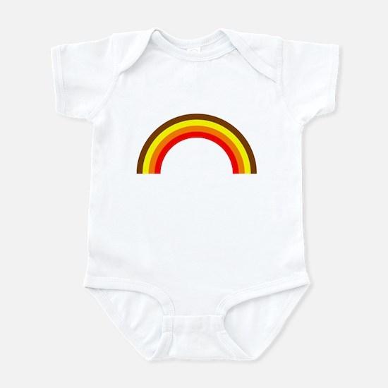 Brown Rainbow Infant Bodysuit