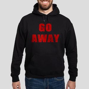 Go Away Hoodie (dark)