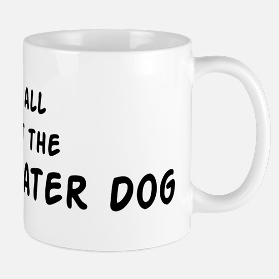 about the Spanish Water Dog Mug