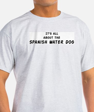 about the Spanish Water Dog T-Shirt