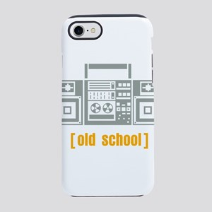 Old school, boombox iPhone 8/7 Tough Case