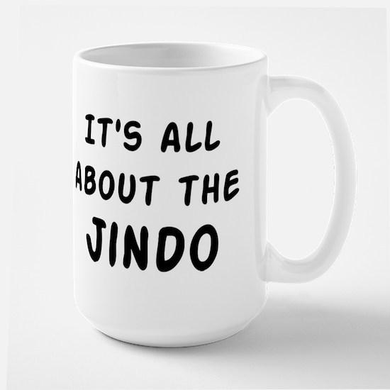 about the Jindo Large Mug