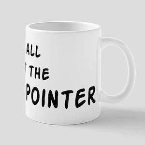 about the English Pointer Mug
