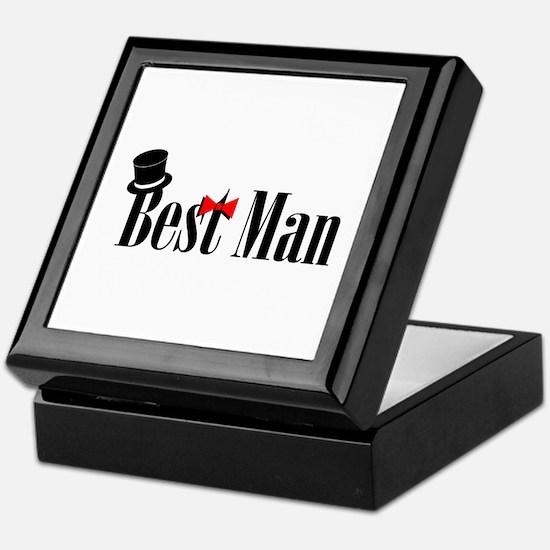 Best Man Keepsake Box