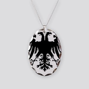 Holy Roman Empire Eagle Tanks Necklace Oval Charm