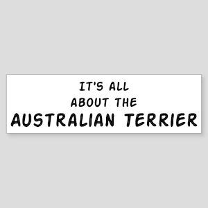 about the Australian Terrier Bumper Sticker