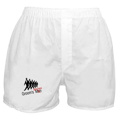 Groom's Bitches Boxer Shorts
