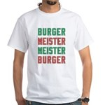 Burger Meister Meister Burger White T-Shirt