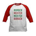 Burger Meister Meister Burger Kids Baseball Jersey