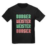 Burger Meister Meister Burger Kids Dark T-Shirt