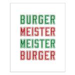 Burger Meister Meister Burger Small Poster