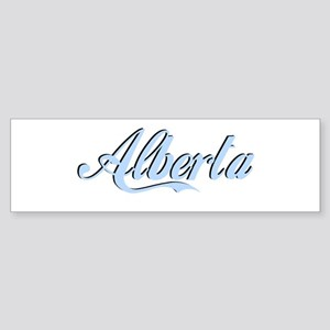 Alberta Bumper Sticker