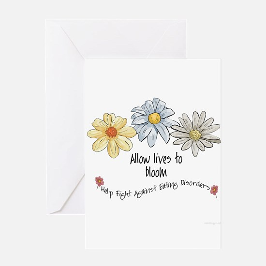 Allow Lives to Bloom Greeting Card