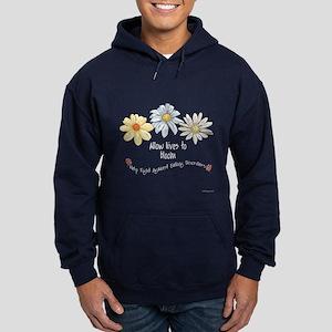 Allow Lives to Bloom Hoodie (dark)