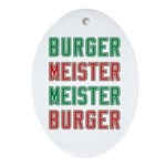 Burger Meister Meister Burger Oval Ornament